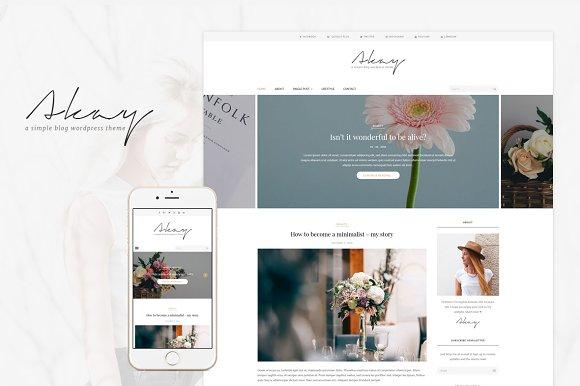 Akay - A WordPress Theme For Blog
