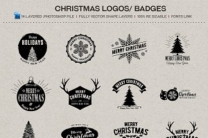 Christmas Logos / Badges