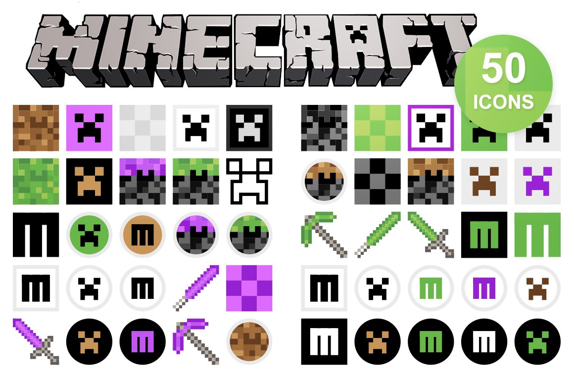 how to change the icon on minecraft