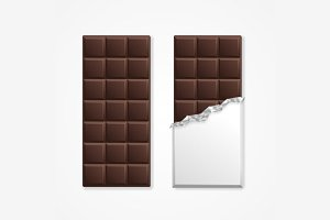 Chocolate Package Bar Blank