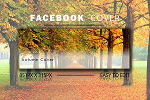 Autumn Facebook Cover