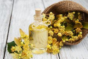 Essential linden oil