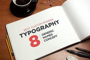 8 Best Modern Custom Typography