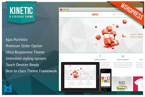 KINETIC - Responsive Wordpress Theme