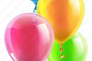 Party balloon set