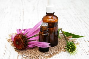 Essential oil with echinacea