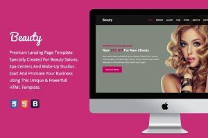 Beauty - Premium HTML Template