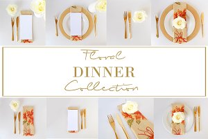 Complete Floral Dinner Collection
