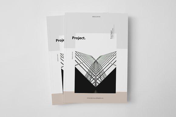 Project Proposal Brochure Templates Creative Market