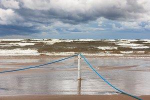Storm. Baltic sea