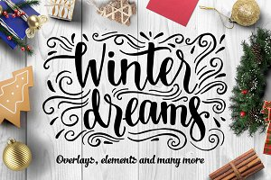 Winter dreams - design set