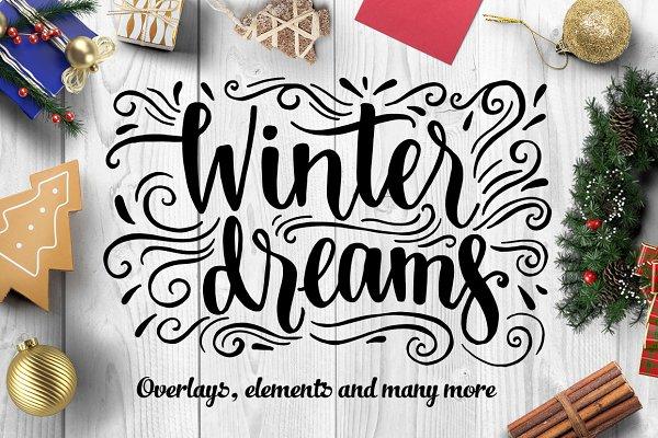 Winter dreams - design set
