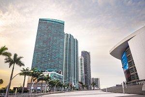 Biscayne Boulevard, Miami, Florida
