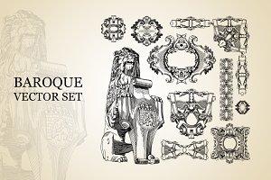 Baroque Vector Set