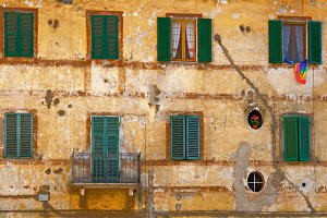 Typical Tuscany Architecture