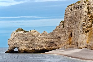 Etretat Cliffs in Normandy