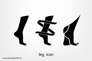icon leg