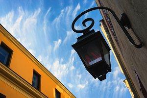 Street lamp. Riga
