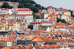 Lisbon Cityscape Panorama