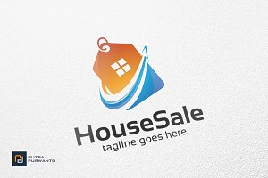House Sale - Logo Template