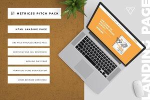 Metricss Landing Page