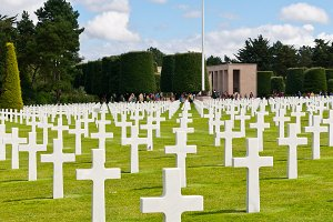 American War Cemetery, Normandy