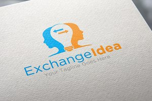 Exchange idea | Logo Template