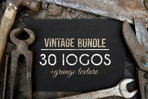 30 Vintage Logos + BONUS