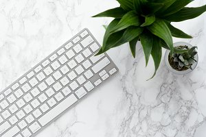 Marble Styled Stock Photo