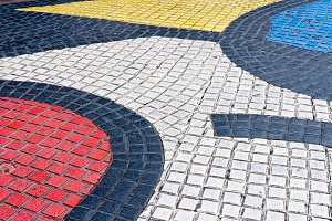 Street Mosaic in Barcelona