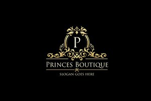 Luxury Logo - Princes Boutique