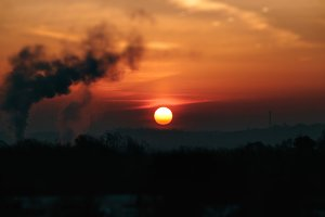 Sunrise Smokestacks