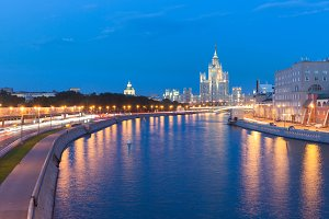 """One of the """"Seven sisters"""", Moscow"""