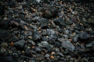 Volcanic rock background