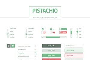 Pistachio: Flat UI Set