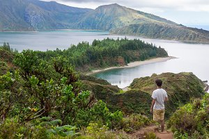 Lagoa do Fogo in Azores