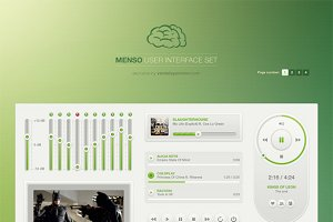 Menso UI Set Light
