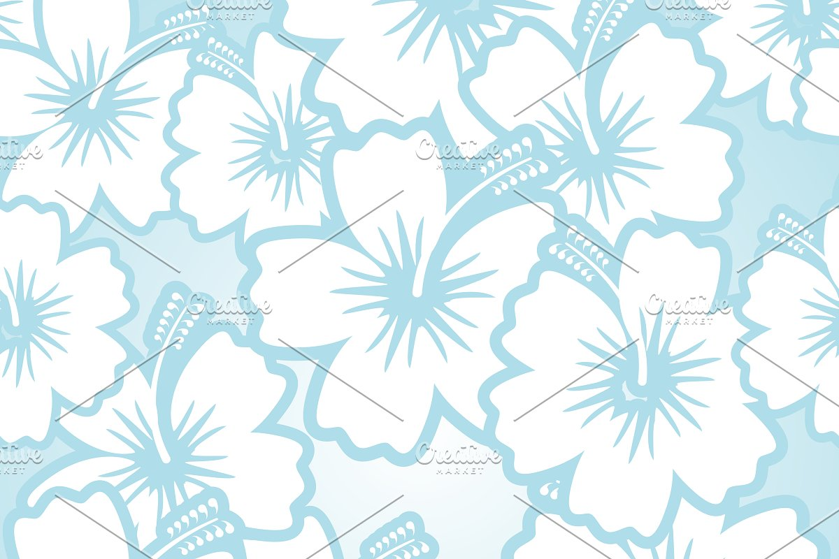 Seamless Floral Patterns Custom Designed Graphics Creative Market