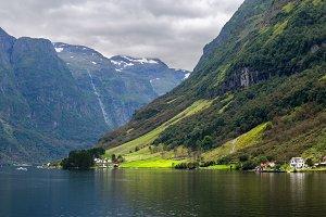 Fjord Banks in Norway