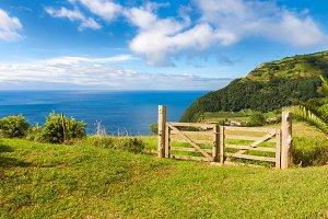 Landscape in Sao Miguel, Azores