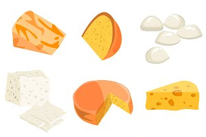 Cheese types.