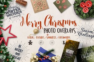 ❄Christmas Overlays & Extras❄