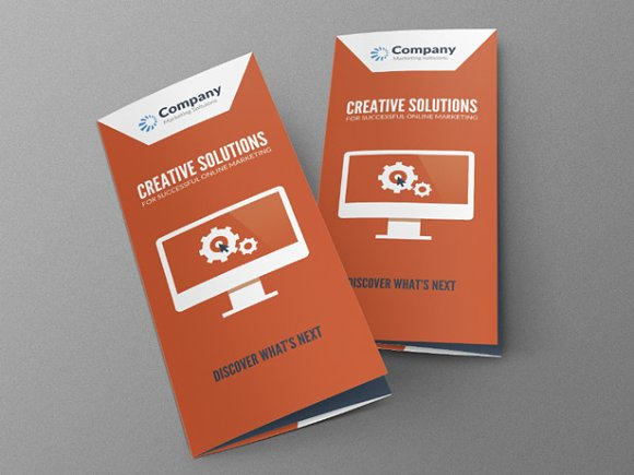 Online Marketing Brochure Brochure Templates Creative Market - Online brochures templates