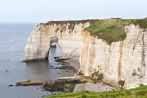 Etretat Cliffs, Normandy