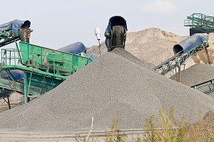 Rock Quarry conveyor