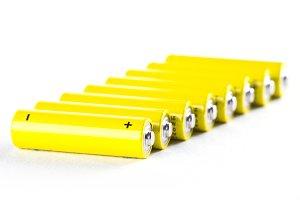 yellow power batteries