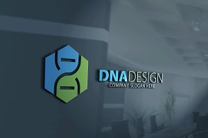 DNA Design Logo