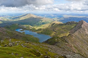 Landscape in Snowdonia