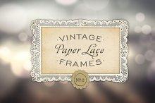 Antique Paper Lace Frames No. 2