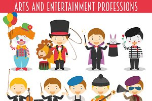 Arts and Entertainment Professions